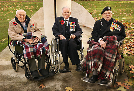 Image result for Henry John Patch (1898–2009) by Peter Macdiarmid, 2008 [with Henry Allingham (left) and William Stone (right), Armistice Day service, 2008]
